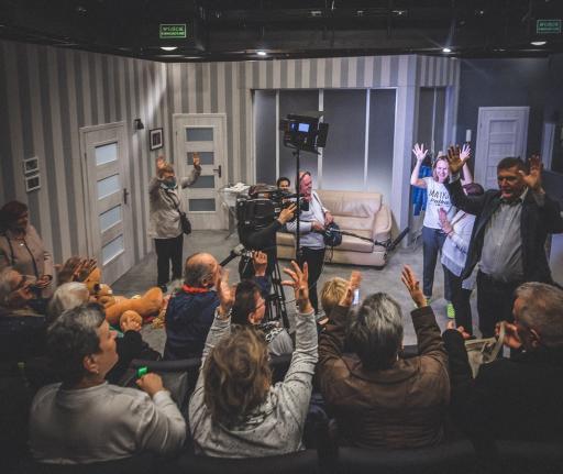 Spotkanie widzów z aktorami po spektaklu