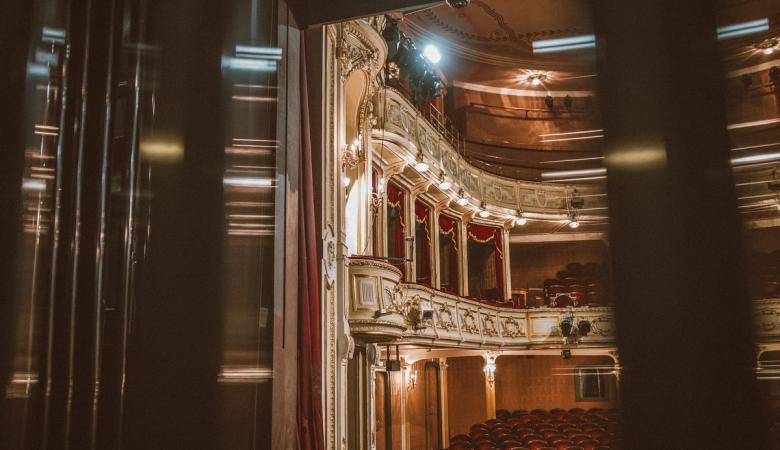 Widownia Teatru Polskiego