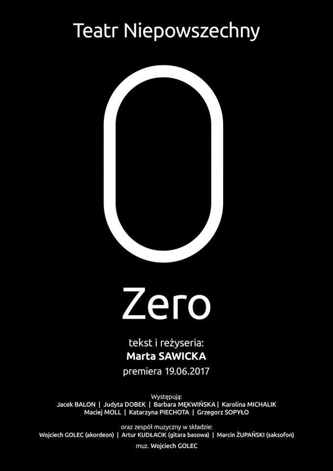 """""""Zero"""" gościnnie na Małej Scenie"""